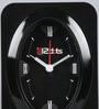 Random Black Plastic 4 x 2 x 5.5 Inch Alarm Clock