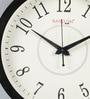 Random Black Wood & MDF 12 Inch Round Elegant Classic Wall Clock