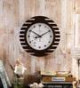 Random Multicolour Wooden Ultra Wings Wall Clock