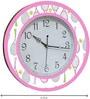 Rang Rage Badminton Handpainted Round Clock
