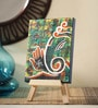 Canvas 8 x 1 x 6 Inch Classy Contemporary Ganesha Stretched Framed Painting with Easel Stand by Rang Rage