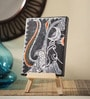 Rang Rage Canvas 8 x 1 x 6 Inch Classy Majestic Shiva Stretched Framed Painting with Easel Stand