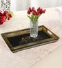 Rang Rage Handpainted Classic Motif Natural Multicolour Wood Tray