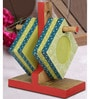 Rang Rage Midas Green Wooden Coasters - Set of 6