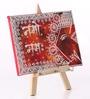 Rang Rage Multicolour Canvas The Mystic Ganesha Key Holder