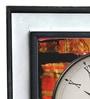 Rang Rage Multicolour Mango Wood Abstract Square Wall Clock