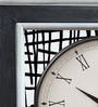 Rang Rage Multicolour Mango Wood Maze Square Wall Clock