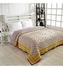 Ratan Jaipur Yellow Cotton Quilt