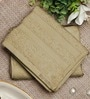 Bluebell Plus Beige Cotton Towel by Raymond Home