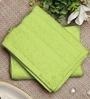 Raymond Home Bluebell Plus Green Cotton Towel