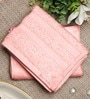 Bluebell Plus Pink Cotton Towel by Raymond Home