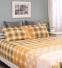 Multicolour Cotton Queen Legend Bed sheet with 2 Pillow Covers by Raymond Home