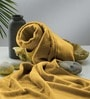 Flyer Mustard Cotton Bath Towel by Raymond Home