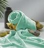 Flyer Sea Green Cotton Bath Towel by Raymond Home