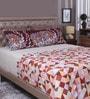Raymond Home Multicolour 100% Cotton King Size Bedsheet - Set of 3