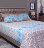 Multicolour 100% Cotton King Size Bedsheet - Set of 3 by Raymond Home