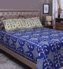 Raymond Home Multicolour 100% Cotton Queen Size Bedsheet - Set of 3
