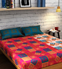 Raymond Home Multicolour Cotton Queen Size Bedsheet - Set of 3