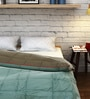 Raymond Home Olive Cotton Queen Size Quilt