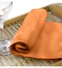 Rosalia Plus Orange Cotton Towel by Raymond Home