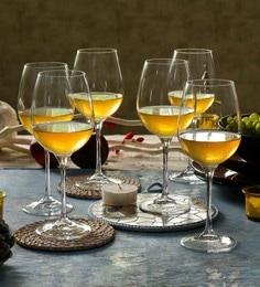 RCR Rosso Annata Crystal Glass 280 ML Tasting Goblet - Set Of 6