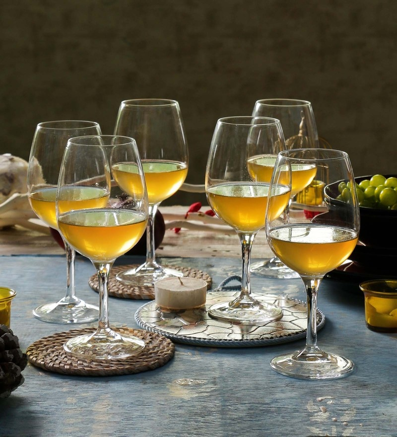 RCR Calice Daily Degustazione Crystal Glass 340 ML Glasses - Set of 6