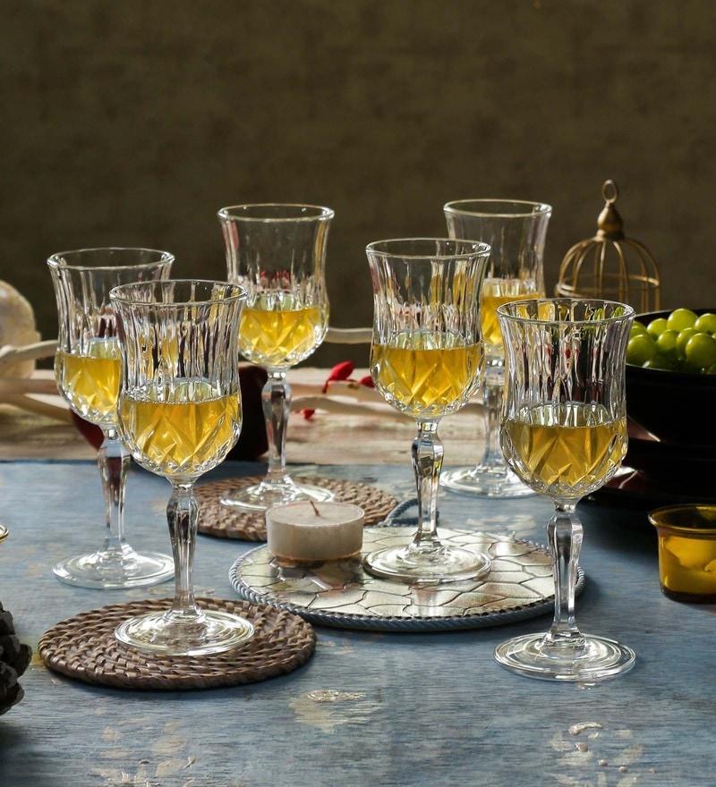 RCR Opera Crystal Glass 320 ML Wine Glasses - Set of 6