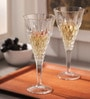 RCR Enigma Calici Glass 209 ML Champagne Flute - Set of 6