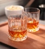 RCR Opera Biccheri Acqua Dof Glass 300 ML Whisky Tumbler Glasses - Set of 6