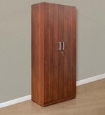 Reegan Two Door Wardrobe in Walnut Finish