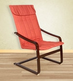 Relaxing Chair in Orange Colour