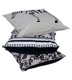 Multicolour Cotton 18 x 18 Inch Ari Work Cushion Covers - Set of 3