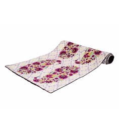 Reinvention Factory Multicolour Table Runner With Paisley Design