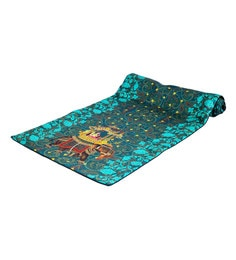Reinvention Factory Multicolour Table Runner With Raja Rani Design