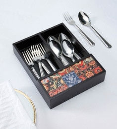 Reinvention Factory Wooden Cutlery Tray - 1701280