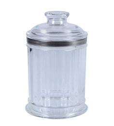 Reniche Round Jar, Big, Silver