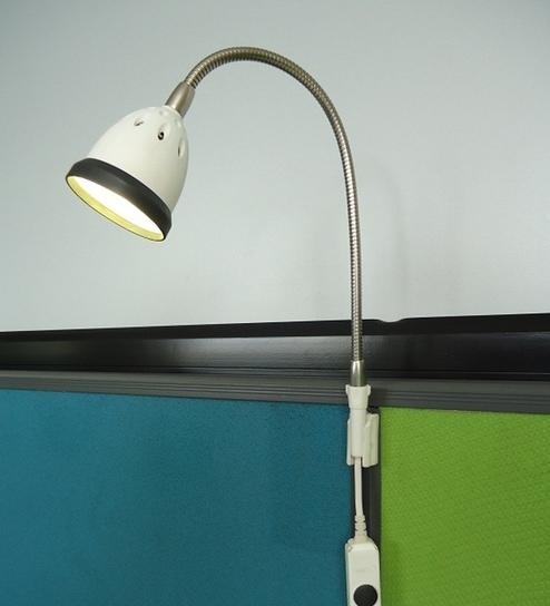 Renata LED Workstation Light Illumina Cool White Light Black