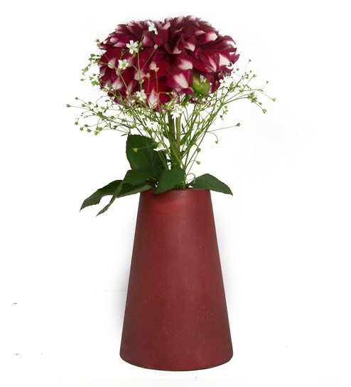 flower centerpieces wedding x afloral gold diy vase products geometric cylinder in tall floral ceramic maven com diameter