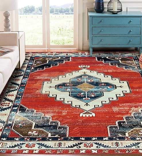 6 X 4 Ft Printed Persian Carpet