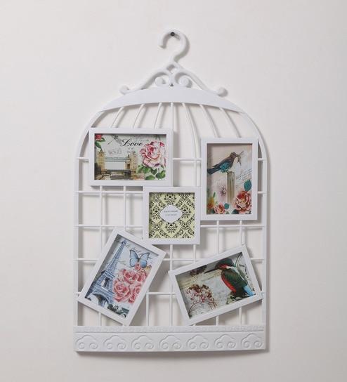 Buy Rednbrown White Metal Cage Photo Frame Online - Single Frames ...