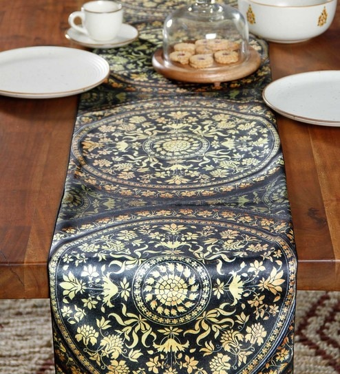 4d2646e7493 Buy Polyester 72 x 14 Table Runner Online - Ethnic Table Runners - Dining    Bar - Dining   Bar - Pepperfry Product