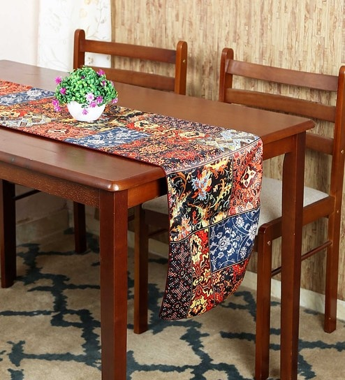 f9bd584782e Buy Polyester 72X12 Table Runner Online - Abstract Table Runners - Dining    Bar - Dining   Bar - Pepperfry Product