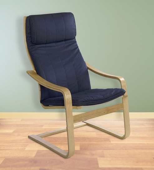 Charmant Relaxing Chair In Blue Colour By @home