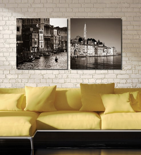 Buy Framed Multiple Canvas Paintings Wonderful Venice in Italy by ...