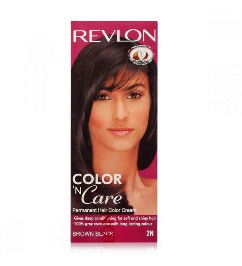 Revlon Color N Care Permanent Hair Color Cream 2012 Brown Black