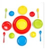 Multicolor Melamine 18-Piece Dinner Set by Recon