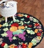 The Rug Republic Multicolour Wool 47 Inch Area Rug