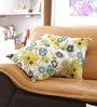 Reme Multicolour Cotton 16 x 16 Inch Embellished Cushion Cover - Set of 2