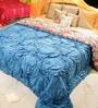Multicolour Cotton King Size Frill Designer Quilt by Reme