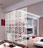 Planet Decor White Acrylic Circles Room Divider